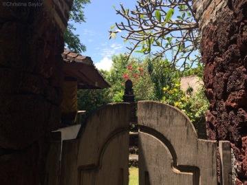 Temple at Pondok Sari Resort on Bali's north coast