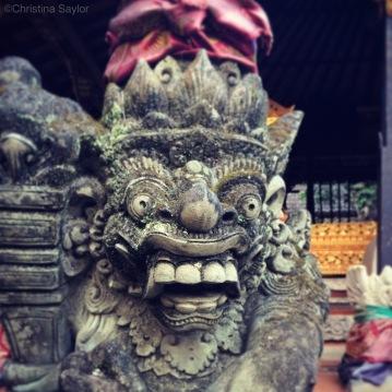 Ubud Palace on Bali