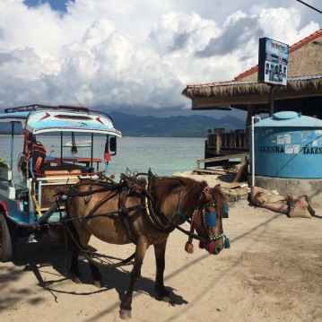 Local transportation on Gili Air