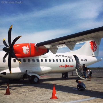 Island hopping to Flores with Lion Air