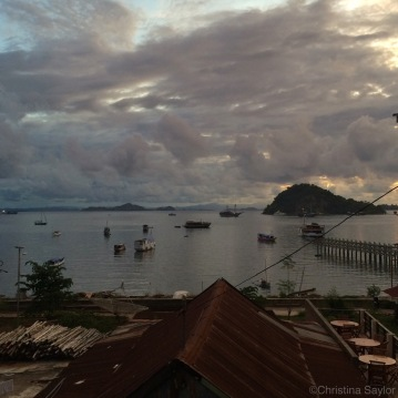 Twilight in Labuan Bajo on Flores