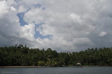The coast of North Sulawesi