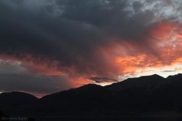 Sunset on Lake Pukaki