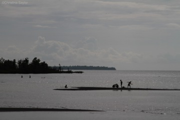 Late afternoon on North Sulawesi