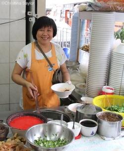 Je Lea's Fishball Noodle in Bangrak