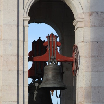 Bell tower of Basilica Estrela in Lisbon