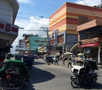 A trip to busy Tagbilaran on Bohol for a visa extension