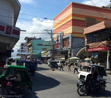 A trip to busy Tagbilaran on Bohol for a visa extension