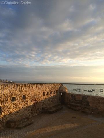 Castillo de Santa Catalina in Cadiz
