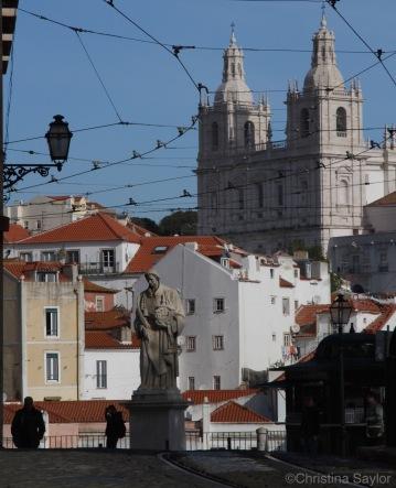 Climbing the hills of Lisbon