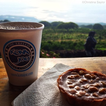Cup o' joe with a view