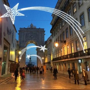 Festive Christmas-Time in Lisbon