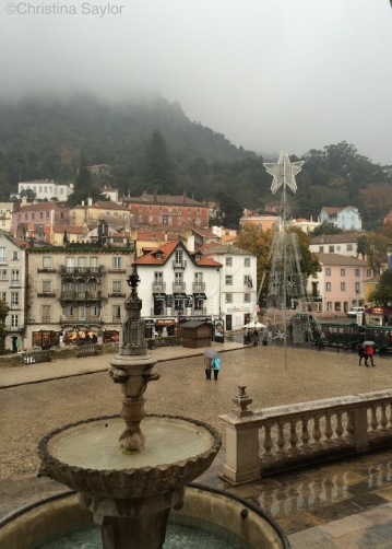 Love on a rainy day in Sintra