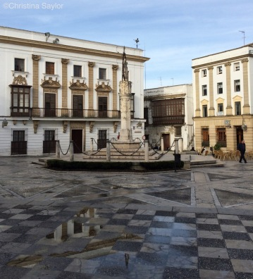 Plaza in Jerez de la Frontera