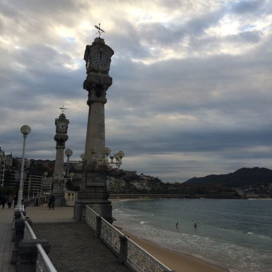 San Sebastian Beach in Basque country