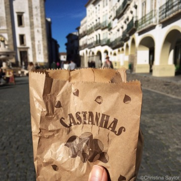 The best roasted chestnuts in Évora