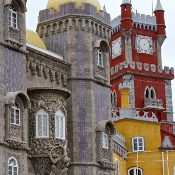 The Palácio Nacional da Pena in Sintra