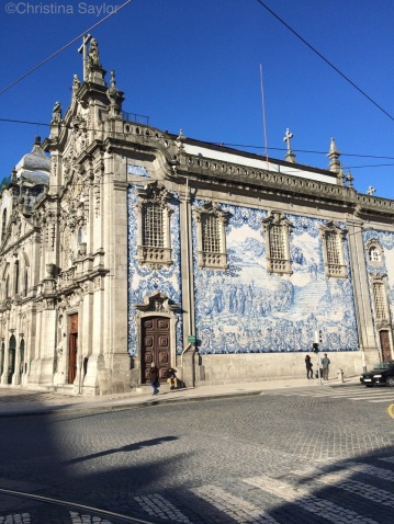 Traditional Portuguese tiles in Porto