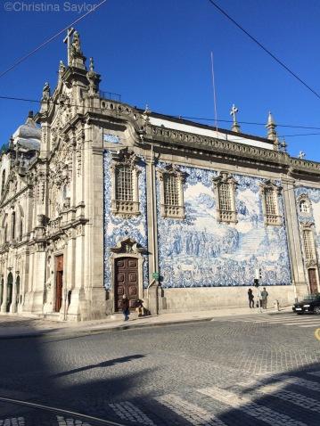 Traditional Portuguese tiles in Porto