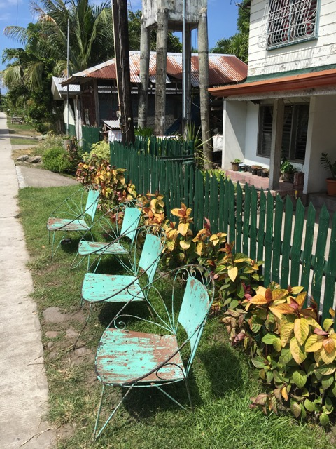 Front yard in Dauin