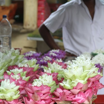 Flower Vendor at a temple