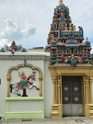 Hindhu temple in Kuala Lumpur
