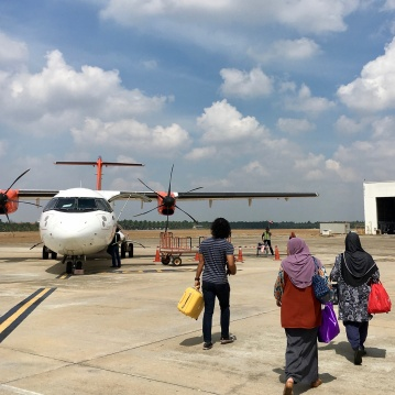 Catching a flight from Kuala Besut to Langkawi