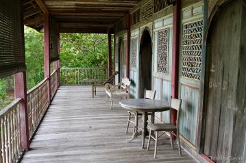 Antique Chinese farmhouse at Bon Ton Resort on Langkawi