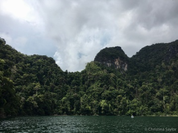 Cloudy day island hopping around Langkawi