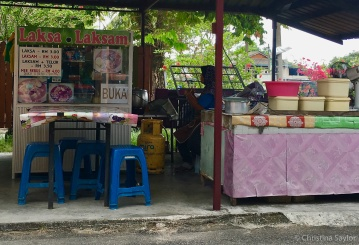 Laksa for lunch on Langkawi
