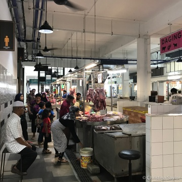 A walk through a food market in Georgetown, Penang
