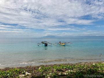 Boats near Beloi Village